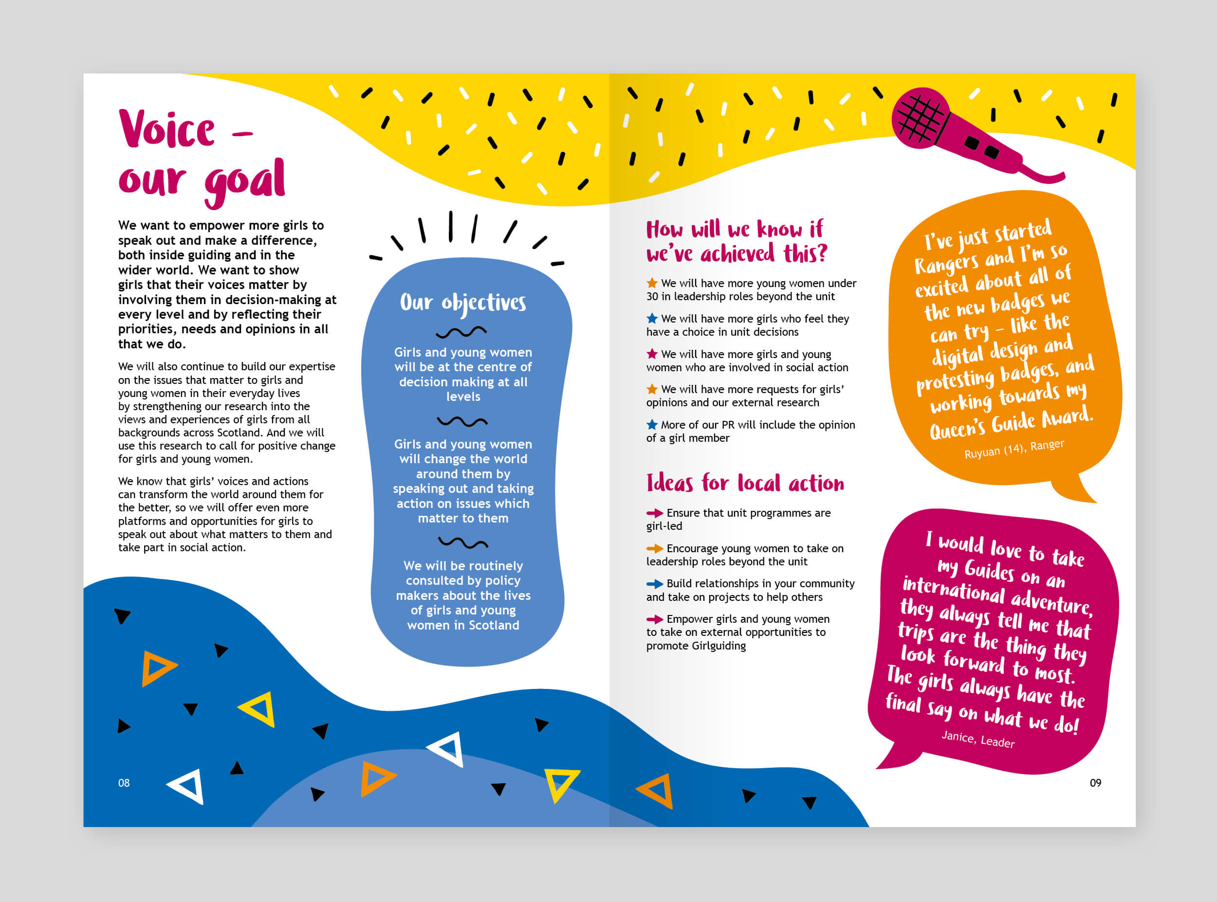 Girl Guides Strategic plan document